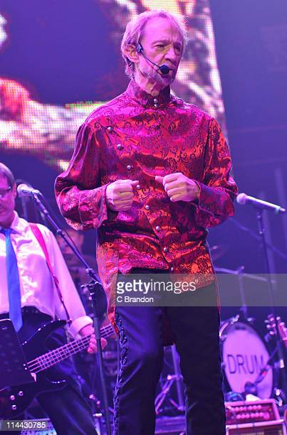 Peter Tork of The Monkees performs on stage at Royal Albert Hall on May 19 2011 in London United Kingdom