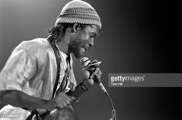 Peter Tosh during Peter Tosh in Concert at Alex Cooley's Capri Ballroom in Atlanta February 21 1979 at Alex Cooley's Capri Ballroom in Atlanta...