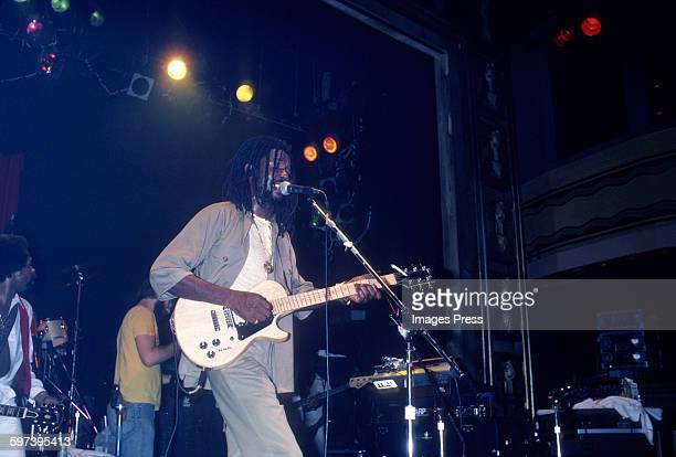 Peter Tosh in concert circa 1981 in New York City