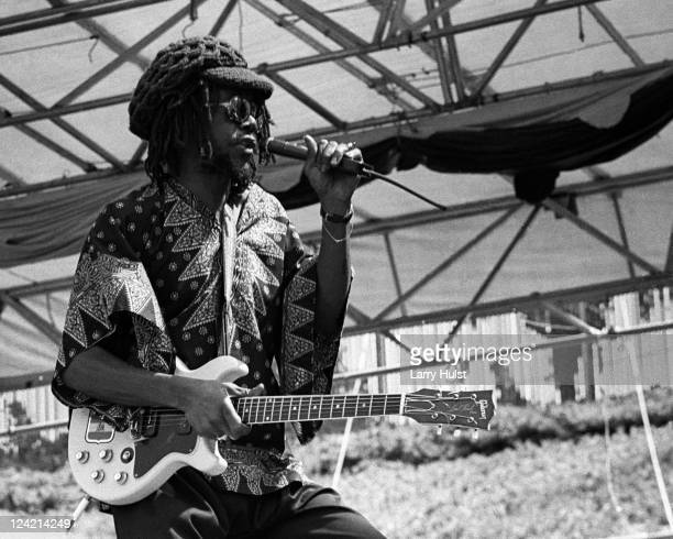 Peter Tosh performing at Oakland Coliseum in Oakland California on August 26 1978