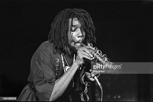 Peter Tosh performs at Park West Chicago Illinois December 24 1979