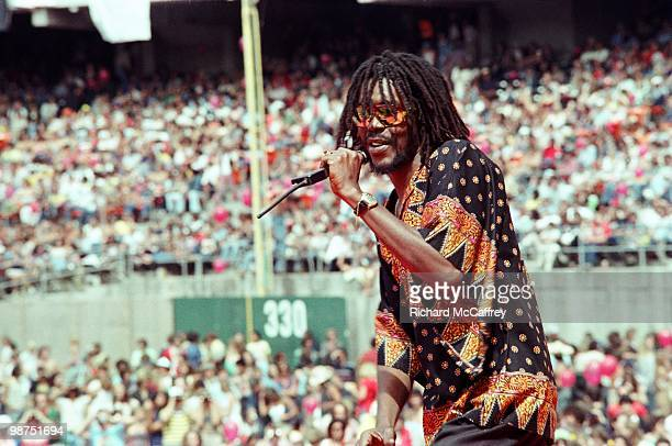 Peter Tosh performs live at The Oakland Coliseum in 1978 in Oakland California