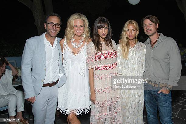 Peter Traugott Ashley McDermott EBTH Chief Brand Officer of EBTH Mandana Dayani Designer Rachel Zoe and Roger Berman attend the Ashley And Jeff...