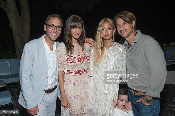 Peter Traugott EBTH Chief Brand Officer Mandana Dayani Designer Rachel Zoe and Roger Berman attend the Ashley And Jeff McDermott host an intimate...