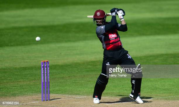Peter Trego of Somerset bats during the Royal London OneDay Cup match between Somerset and Kent at The Cooper Associates County Ground on May 2 2017...