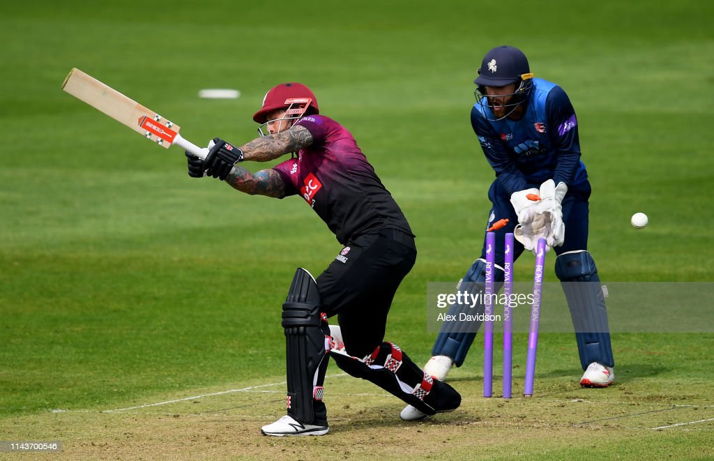 GBR: Somerset v Kent - Royal London One Day Cup