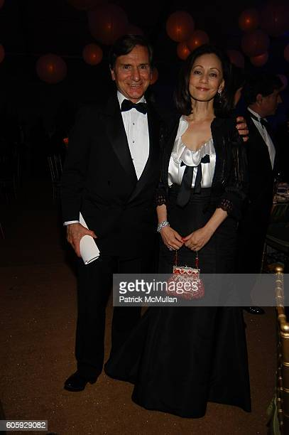 Peter Tufo and Maya Rana Tufo attend The JUILLIARD Centennial Gala Live at Lincoln Center at The Juilliard School on April 3 2006 in New York City