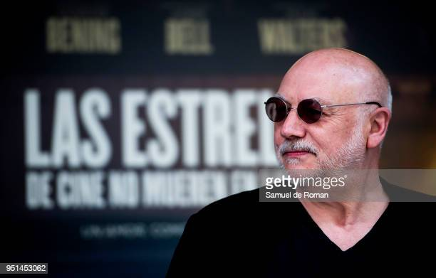 Peter Turner during 'Film Stars Don't Die in Liverpool' photocall on April 26, 2018 in Madrid, Spain.
