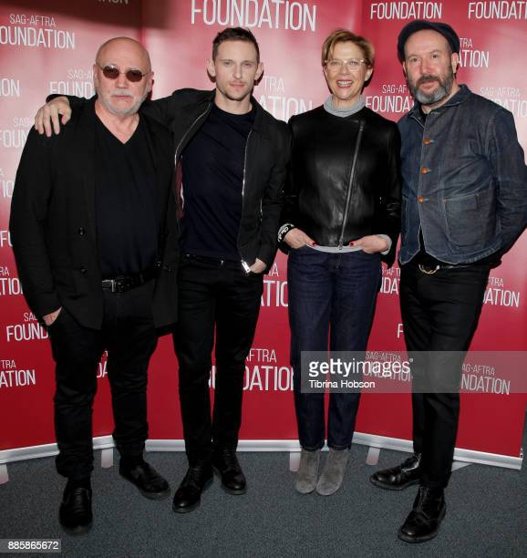 Peter Turner Jamie Bell Annette Bening and Paul McGuigan attend SAGAFTRA Foundation's conversation and screening of 'Film Stars Don't Die In...