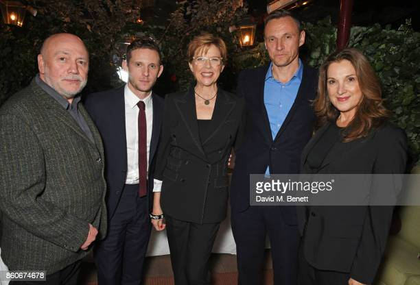 Peter Turner Jamie Bell Annette Bening Zygi Kamasa CEO of Lionsgate UK and coproducer Barbara Broccoli attend the PORTER Lionsgate UK after party for...