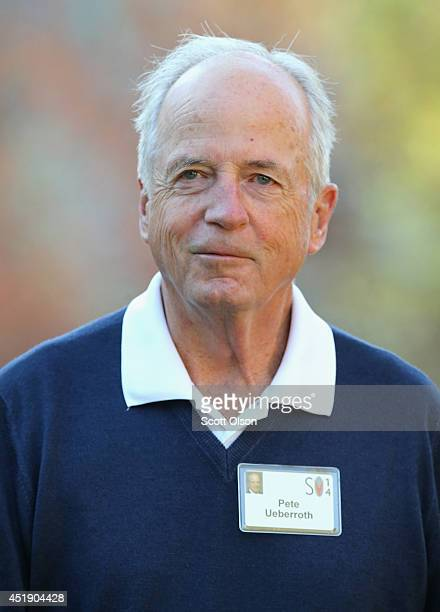 Peter Ueberroth chairman of Contrarian Group Inc attends the Allen Company Sun Valley Conference on July 9 2014 in Sun Valley Idaho Many of the...