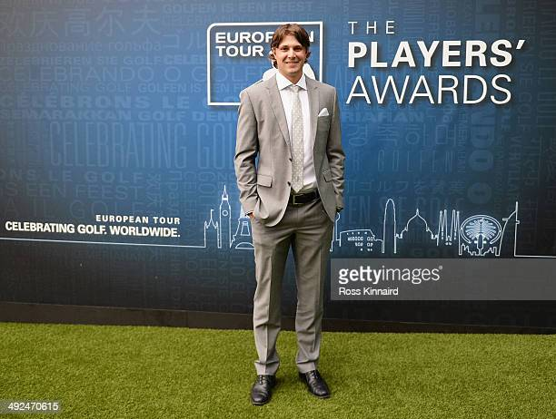 Peter Uihlein of the United States attends the European Tour Players' Awards ahead of the BMW PGA Championship at the Sofitel London Heathrow on May...