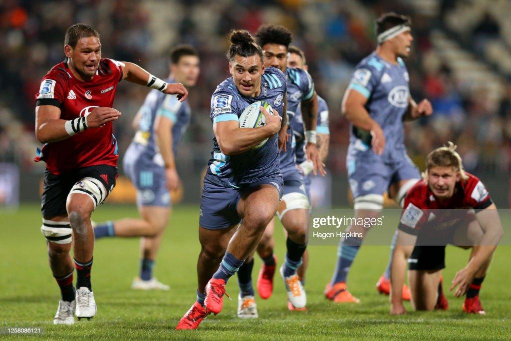 Super Rugby Aotearoa Rd 7 - Crusaders v Hurricanes : ニュース写真