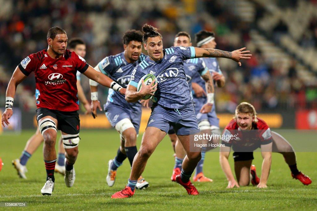 Super Rugby Aotearoa Rd 7 - Crusaders v Hurricanes : News Photo