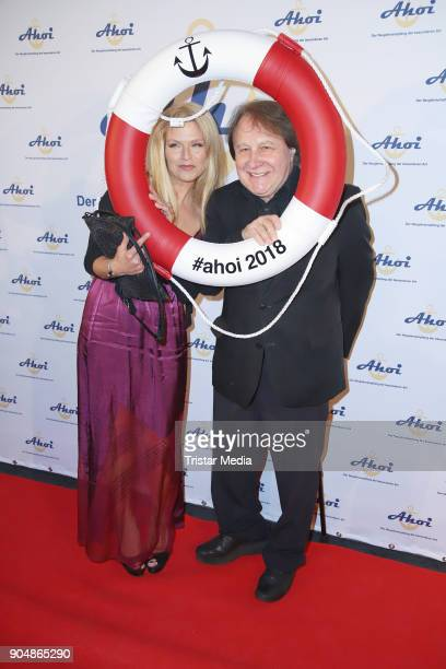 Peter Urban and his wife Laura Urban attend the 'Ahoi 2018 - The special kind of New Year's Reception on January 13, 2018 in Hamburg, Germany.