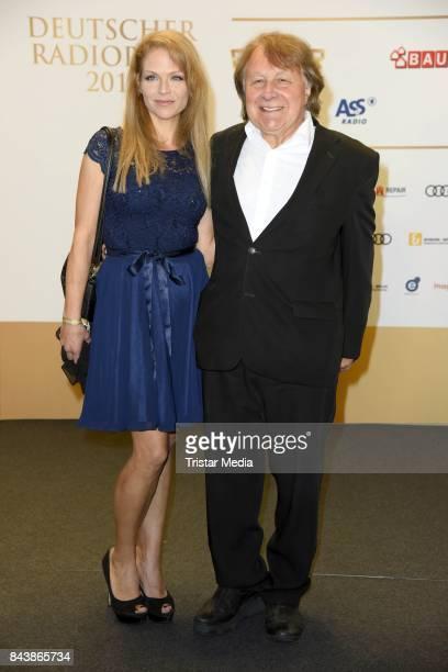 Peter Urban and his wife Laura Urban attend the Deutscher Radiopreis at Elbphilharmonie on September 7 2017 in Hamburg Germany