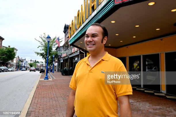 Peter Urscheler parttime mayor of the Borough of Phoenixville poses for a photo in front of the Colonial located in the hart of the commercial...