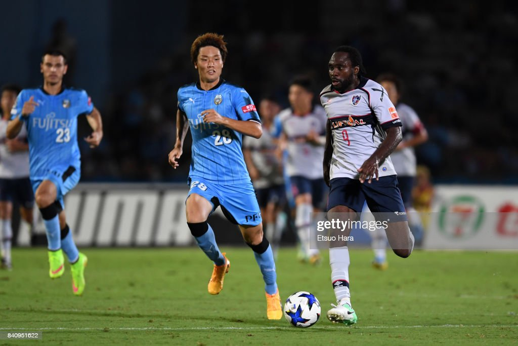 Kawasaki Frontale v FC Tokyo - J.League Levain Cup Quarter Final 1st Leg : ニュース写真