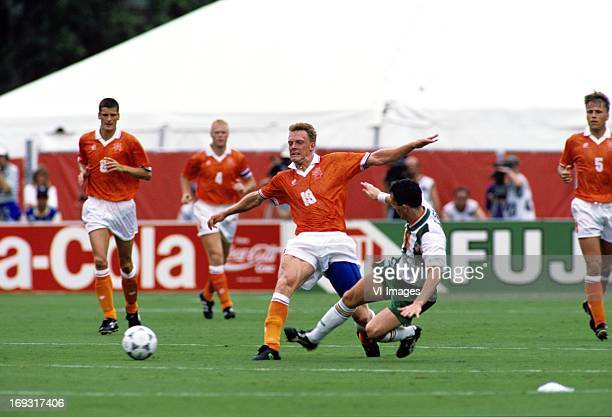 Peter van Vossen during the FIFA World Cup 1994 round of 16 match between Netherlands and Ireland om July 4 1994 at the Citrus Bowl stadium in...