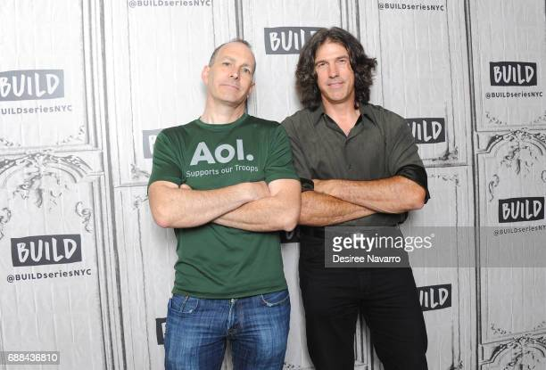 Peter Vanderloo and actor Benjamin Busch attend Build at Build Studio on May 25 2017 in New York City