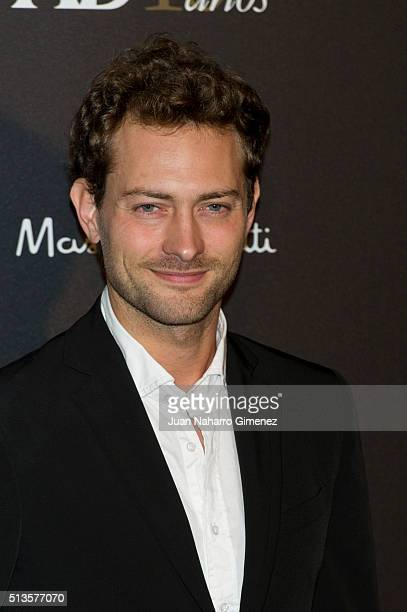 Peter Vives attends 'AD Awards' at Ritz Hotel on March 3 2016 in Madrid Spain