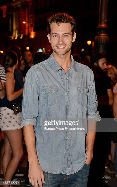 Peter Vives attends FIBA Private Party on September 14 2014 in Madrid Spain