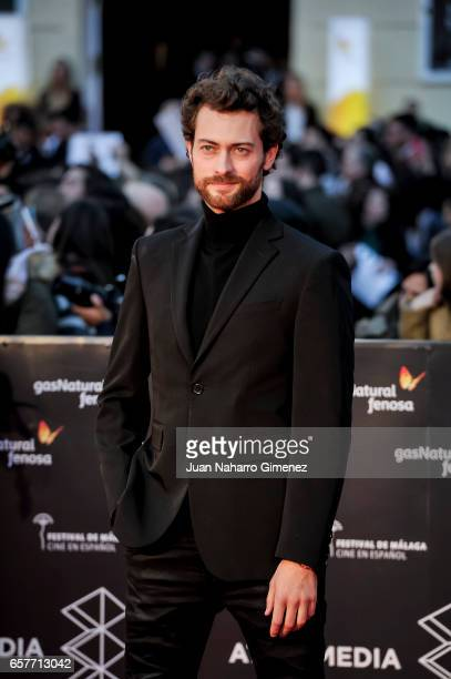 Peter Vives attends photocall during of the 20th Malaga Film Festival on March 25 2017 in Malaga Spain