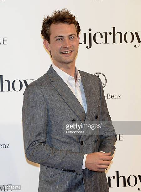Peter Vives attends the 2014 Mujer Hoy Awards at The Palace Hotel on December 16 2014 in Madrid Spain