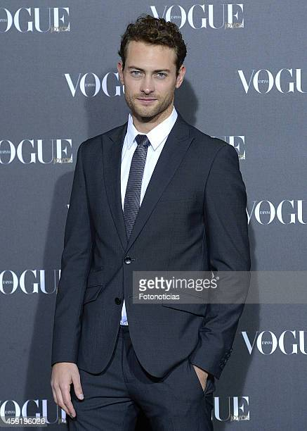 Peter Vives attends the 2014 Vogue Joyas Awards ceremony at the Stock Exchange building on November 18 2014 in Madrid Spain