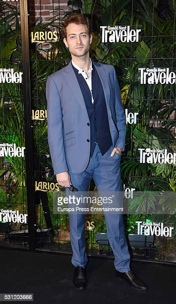 Peter Vives attends the 'Conde Nast Traveler' awards 2016 on May 12 2016 in Madrid Spain