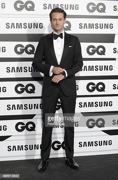 Peter Vives attends the GQ Men Of The Year Awards at The Palace Hotel on November 5 2015 in Madrid Spain