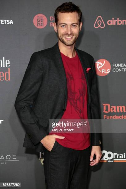 Peter Vives attends the 'People in Red' Charity Party event for investigation against Aids at Palau de Pedralbes of Barcelona on November 20 2017 in...