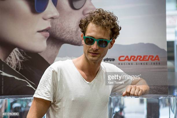 Peter Vives attends the presentation of 'Carrera New Metal Icon Collection' on June 26 2014 in Barcelona Spain