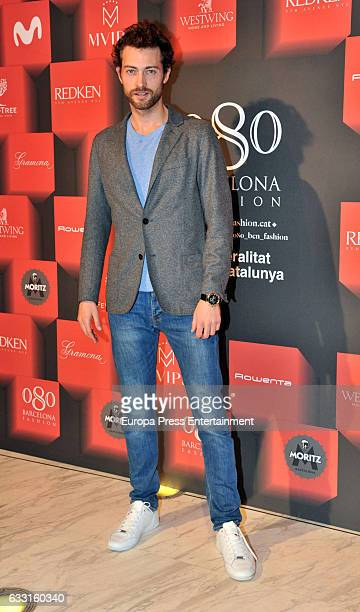 Peter Vives attends the presentation of 'Dorian Gray La Belleza No Tiene Piedad' by Pierre Cardin during Barcelona 080 Fashion Week Autumn/Winter...