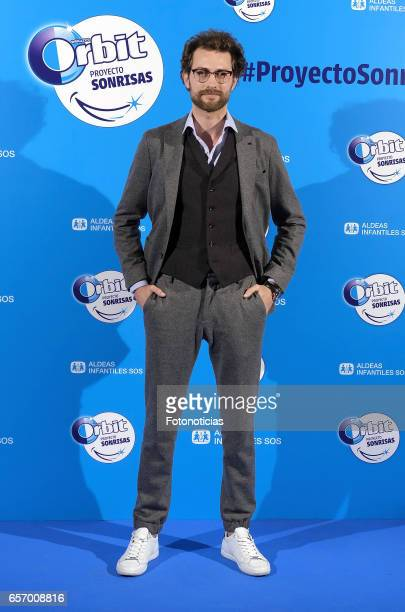 Peter Vives attends the 'Proyecto Sonrisas' new edition presentation at the Principe Pio Theatre on March 23 2017 in Madrid Spain