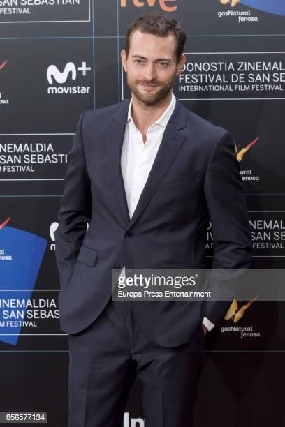 Peter Vives attends the red carpet of the closure gala during 65th San Sebastian Film Festival at Kursaal on September 30 2017 in San Sebastian Spain