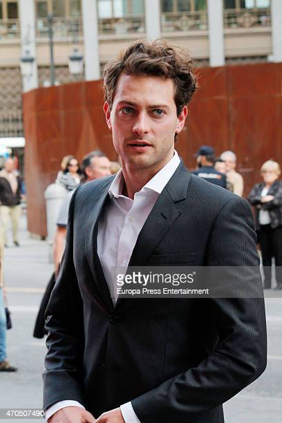 Peter Vives attends 'Woman Awards' at Casino de Madrid on April 20 2015 in Madrid Spain