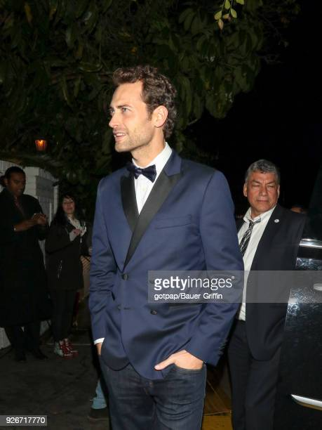 Peter Vives is seen on March 03 2018 in Los Angeles California