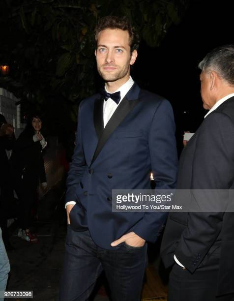 Peter Vives is seen on March 2 2018 in Los Angeles California