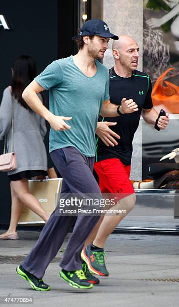 Peter Vives is seen on May 25 2015 in Madrid Spain