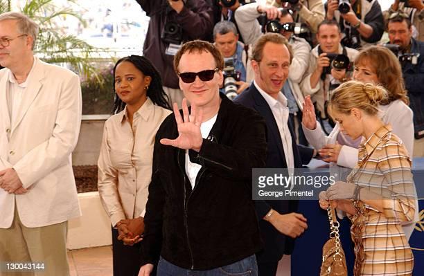 Peter Von Bach Edwige DanticatQuentin Tarantino Benoit Poel Voorde and Emmanuelle Beart