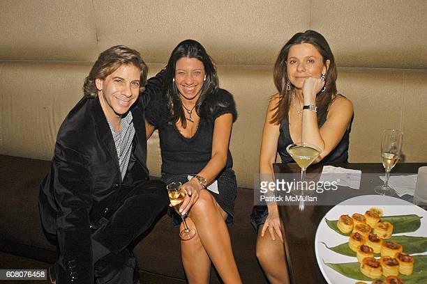 Peter Von Schlossberg Lisa Anastos and Ana Saucedo attend Birthday Celebration for JULIE MACKLOWE at Geisha 33rd on December 16 2006 in New York City