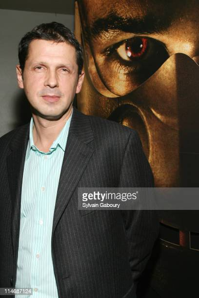 """Peter Webber during Metro-Goldwyn-Mayer Pictures' and The Weinstein Company's Premiere of """"Hannibal Rising"""" - Inside Arrivals at AMC Loews Lincoln..."""