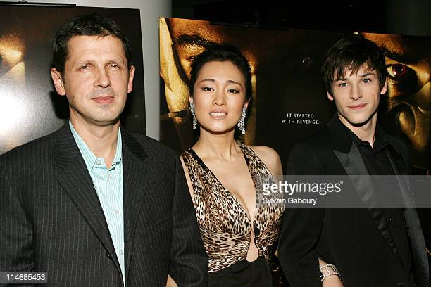 Peter Webber Gong Li and Gaspard Ulliel during MetroGoldwynMayer Pictures' and The Weinstein Company's Premiere of 'Hannibal Rising' Inside Arrivals...