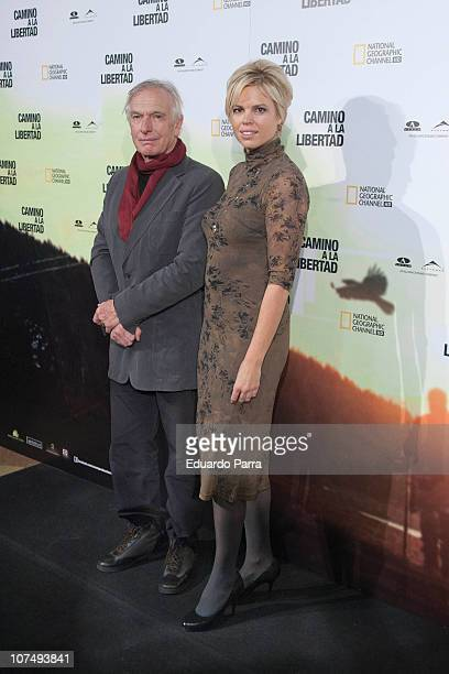Peter Weir and his daughter Ingrid Weir attend The Way Back premiere at Capitol cinema on December 9 2010 in Madrid Spain