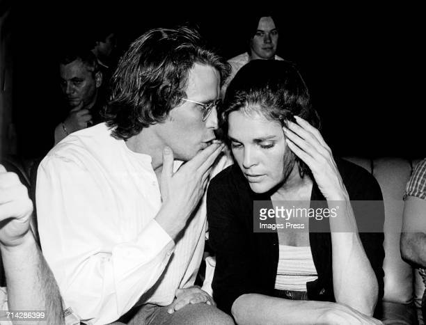 Peter Weller and Ali McGraw at Studio 54 circa 1979 in New York City