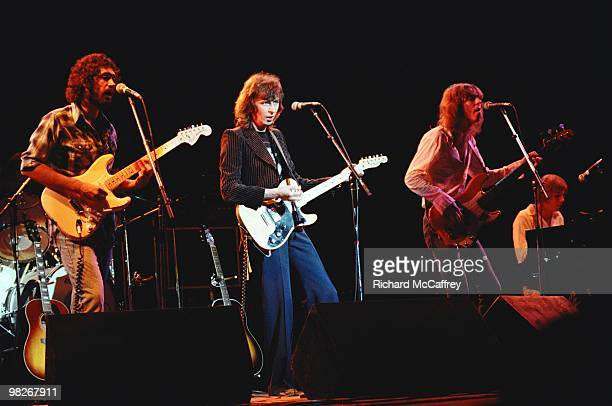 Peter White Al Stewart George Ford and Peter Wood of The Al Stewart Band perform live at The Greek Theatre in 1979 in Berkeley California