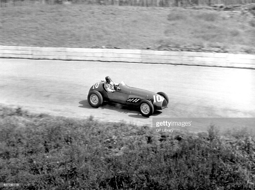 Peter Whitehead Driving A Cooper Alta At Crystal Palace 1953
