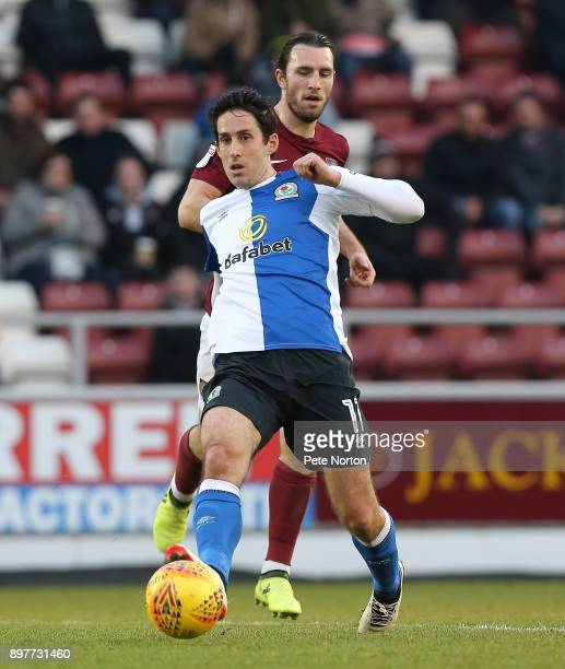 Peter Whittingham of Blackburn Rovers in action during the Sky Bet League One match between Northampton Town and Blackburn Rovers at Sixfields on...