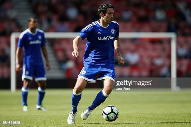 Peter Whittingham of Cardiff City during a preseason match between Bournemouth and Cardiff City at Goldsands Stadium on July 30 2016 in Bournemouth...